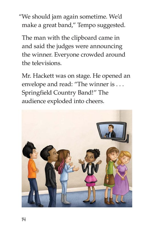 Book Preview For Rockin' Rhythm and Sweet Harmony Page 14