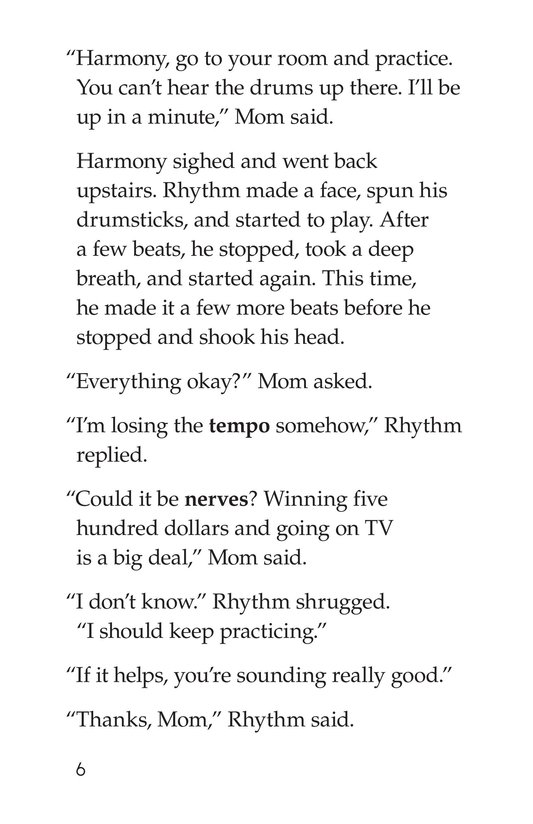 Book Preview For Rockin' Rhythm and Sweet Harmony Page 6