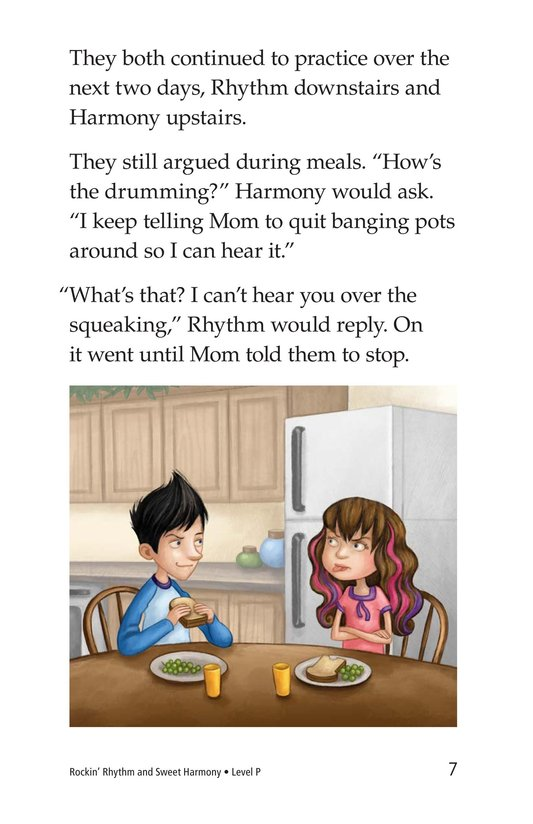 Book Preview For Rockin' Rhythm and Sweet Harmony Page 7