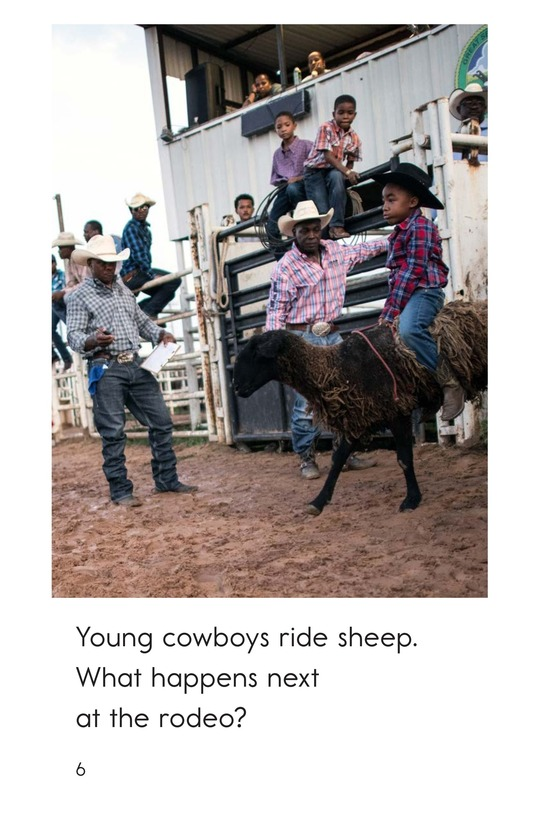 Book Preview For At the Rodeo Page 6