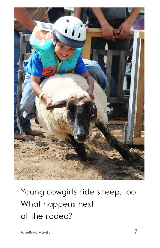 Book Preview For At the Rodeo Page 7