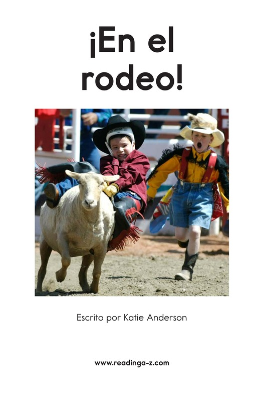 Book Preview For At the Rodeo Page 2