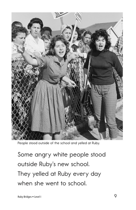 Book Preview For Ruby Bridges Page 9