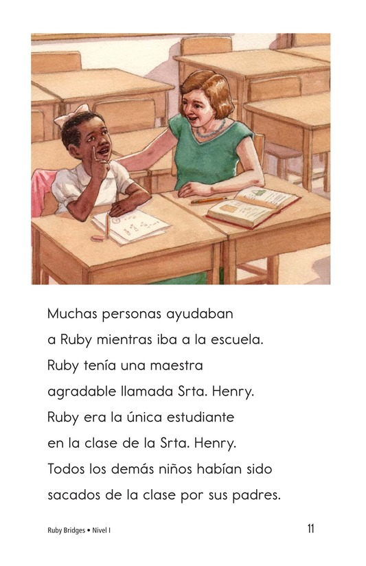 Book Preview For Ruby Bridges Page 11