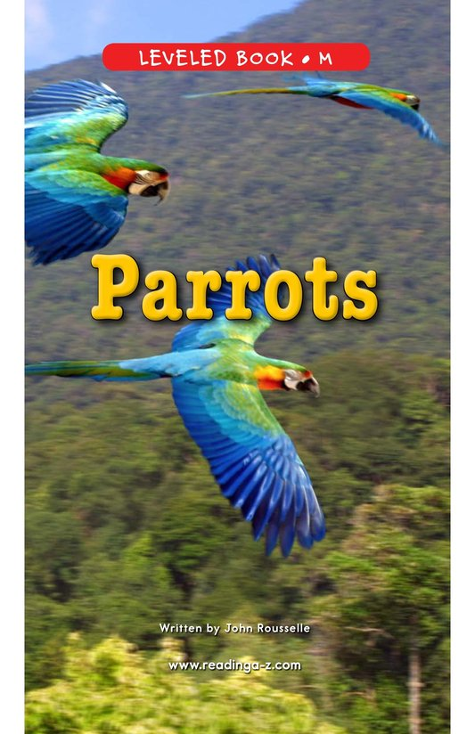 Book Preview For Parrots Page 1