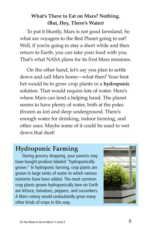 Book Preview For So You Want To Go To Mars? Page 11