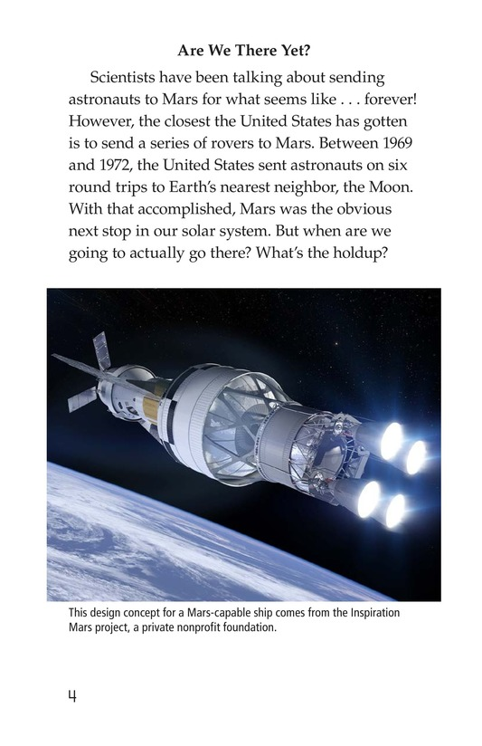 Book Preview For So You Want To Go To Mars? Page 4