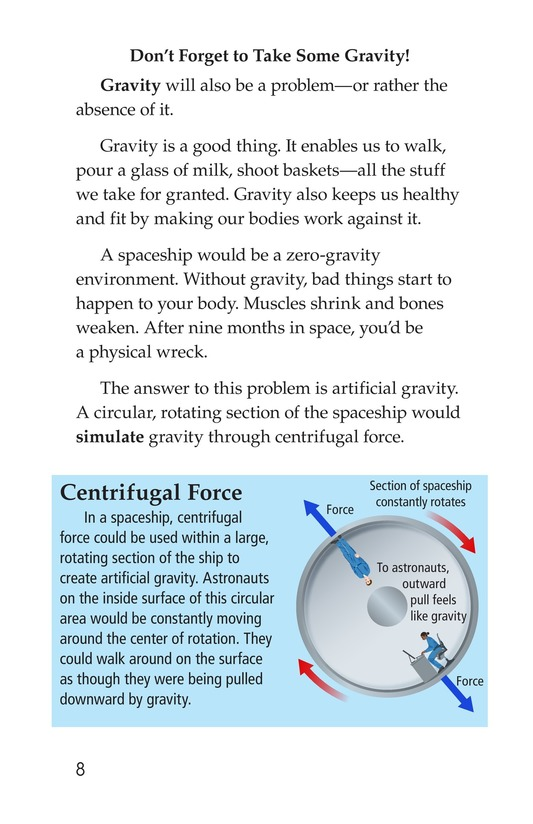 Book Preview For So You Want To Go To Mars? Page 8