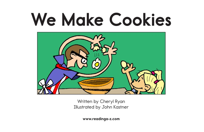 Book Preview For We Make Cookies Page 2