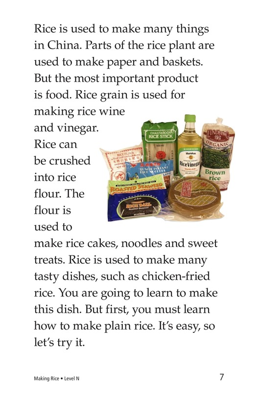 Book Preview For Making Rice Page 7