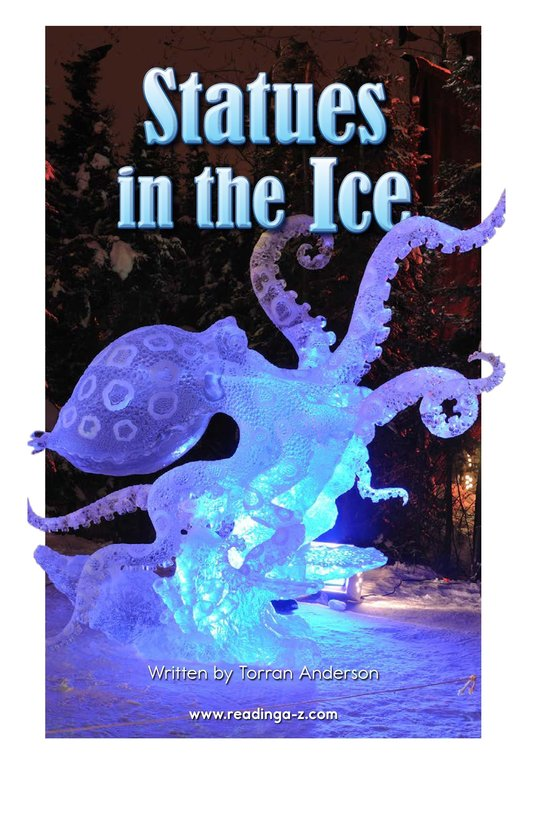 Book Preview For Statues in the Ice Page 2