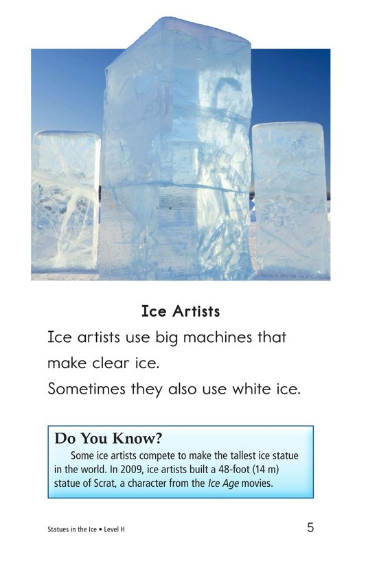 Book Preview For Statues in the Ice Page 5