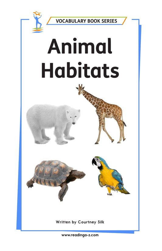 Book Preview For Animal Habitats Page 1
