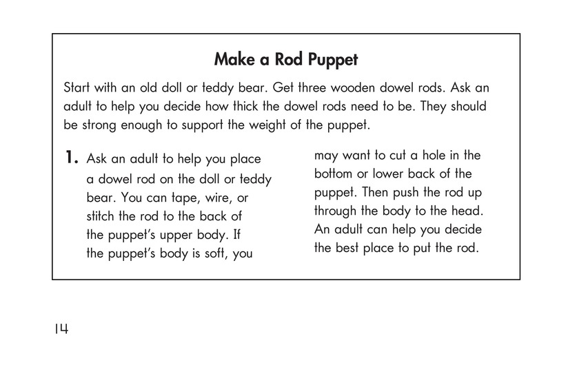 Book Preview For Puppets Page 14