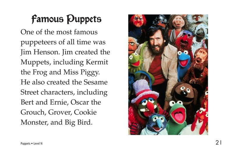Book Preview For Puppets Page 21