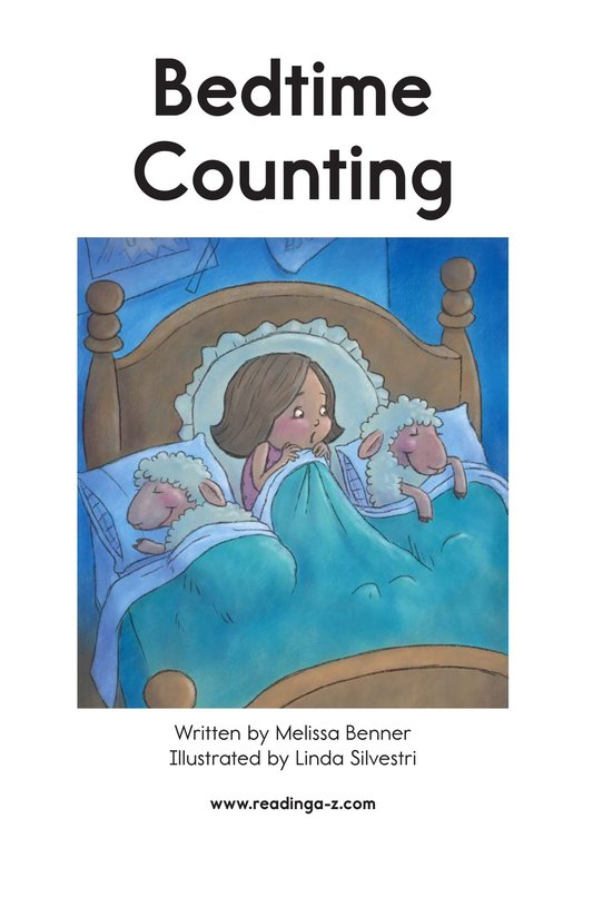 Book Preview For Bedtime Counting Page 2