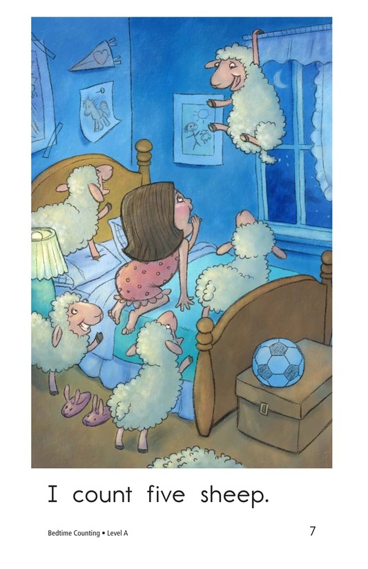 Book Preview For Bedtime Counting Page 7