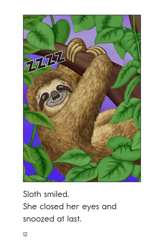 Book Preview For Sloth Wants to Snooze Page 12