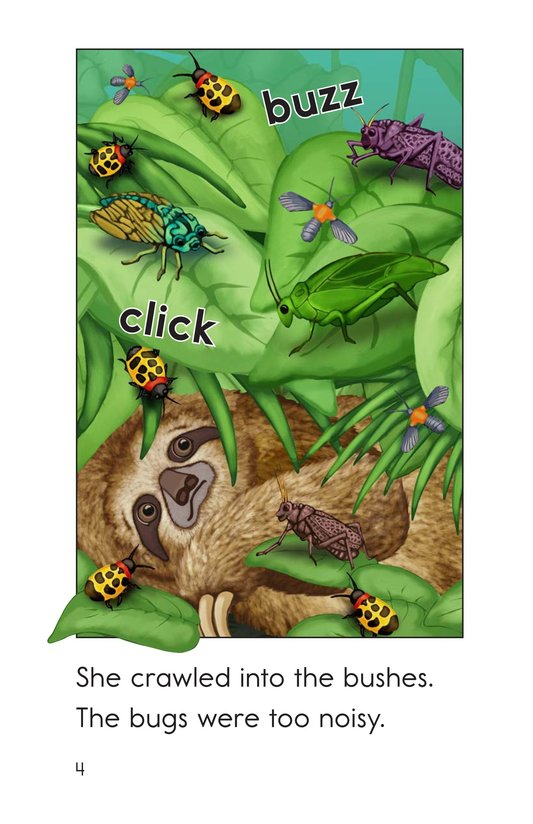 Book Preview For Sloth Wants to Snooze Page 4