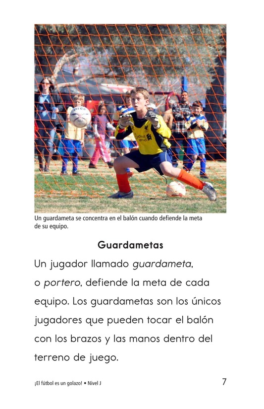 Book Preview For Soccer Is a Kick! Page 7
