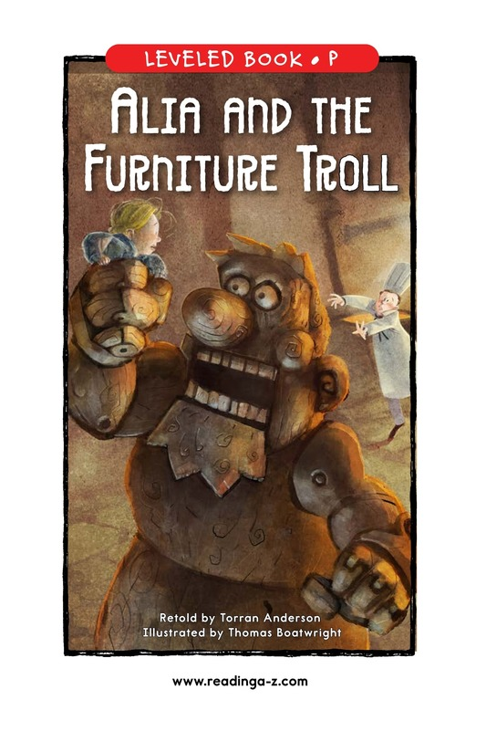Book Preview For Alia and the Furniture Troll Page 1
