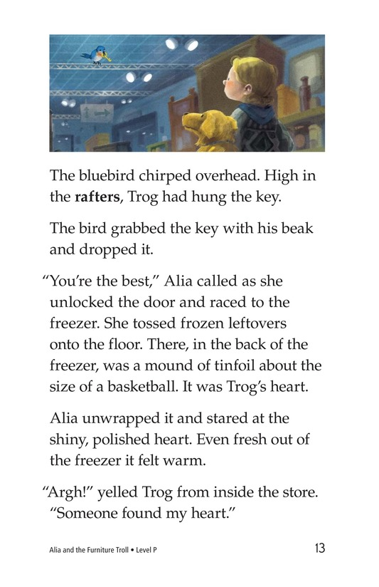 Book Preview For Alia and the Furniture Troll Page 13