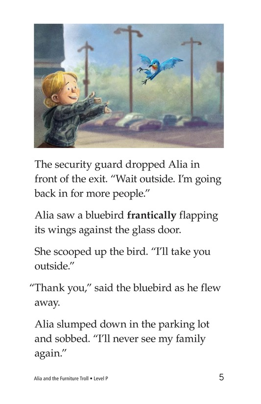 Book Preview For Alia and the Furniture Troll Page 5