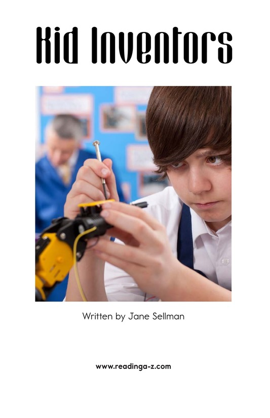 Book Preview For Kid Inventors Page 1