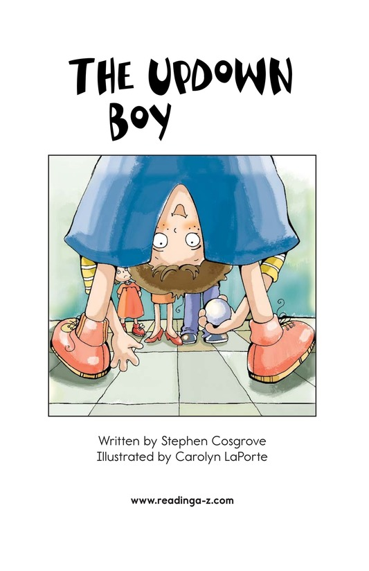 Book Preview For The UpDown Boy Page 2