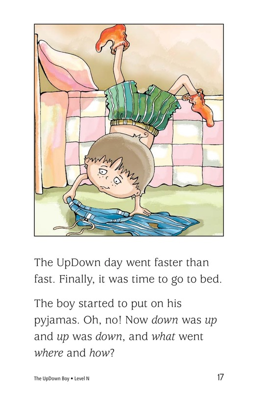 Book Preview For The UpDown Boy Page 17