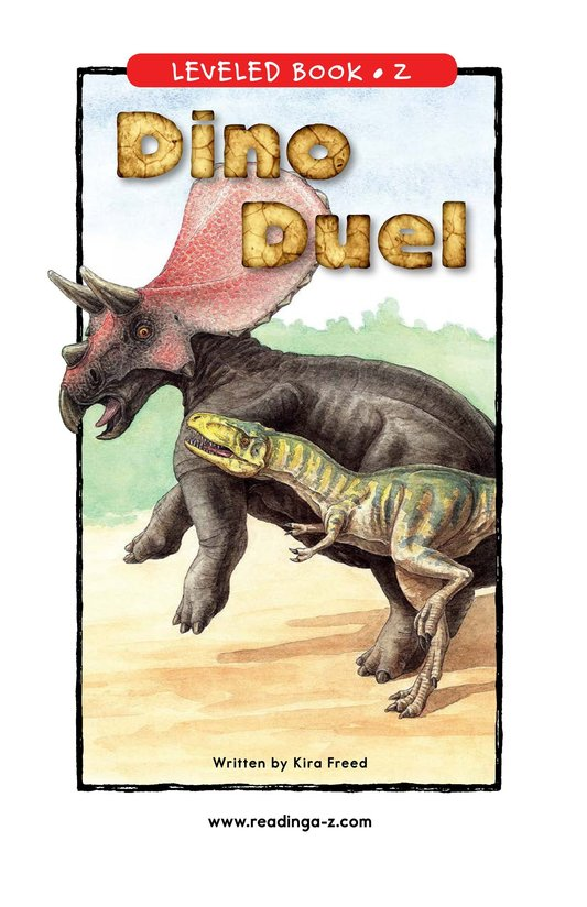Book Preview For Dino Duel Page 1