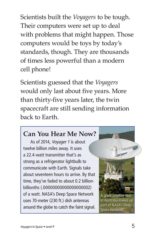 Book Preview For Voyagers in Space Page 5