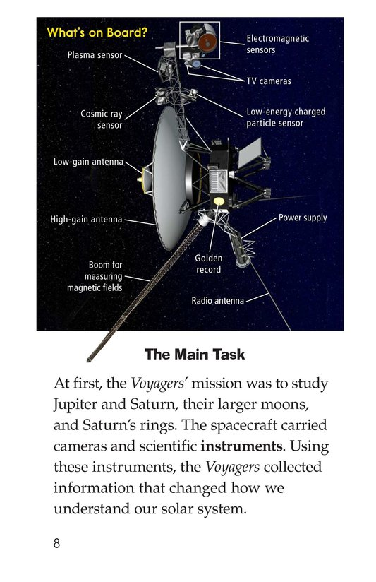 Book Preview For Voyagers in Space Page 8