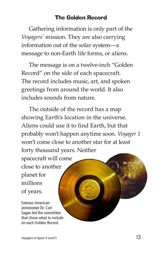 Book Preview For Voyagers in Space Page 13
