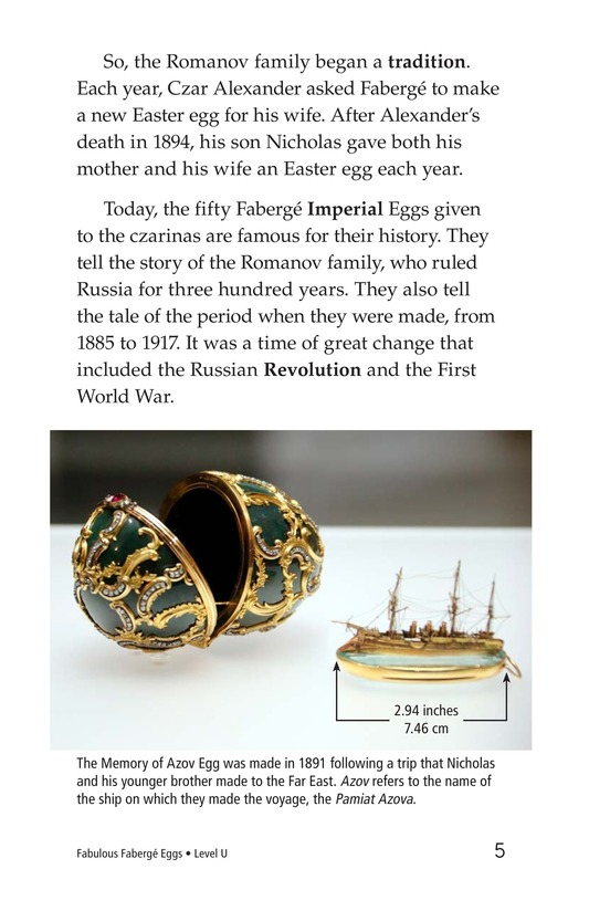Book Preview For Fabulous Fabergé Eggs Page 5