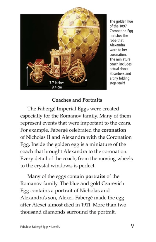 Book Preview For Fabulous Fabergé Eggs Page 9