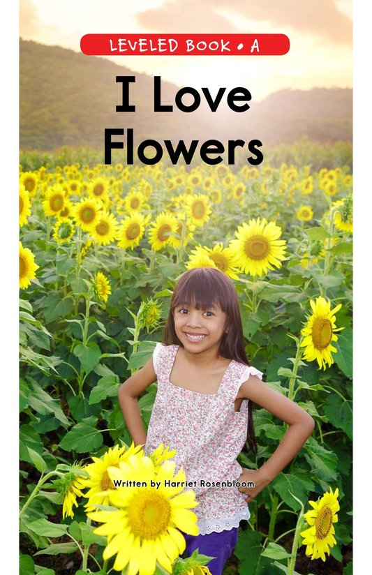 Book Preview For I Love Flowers Page 1