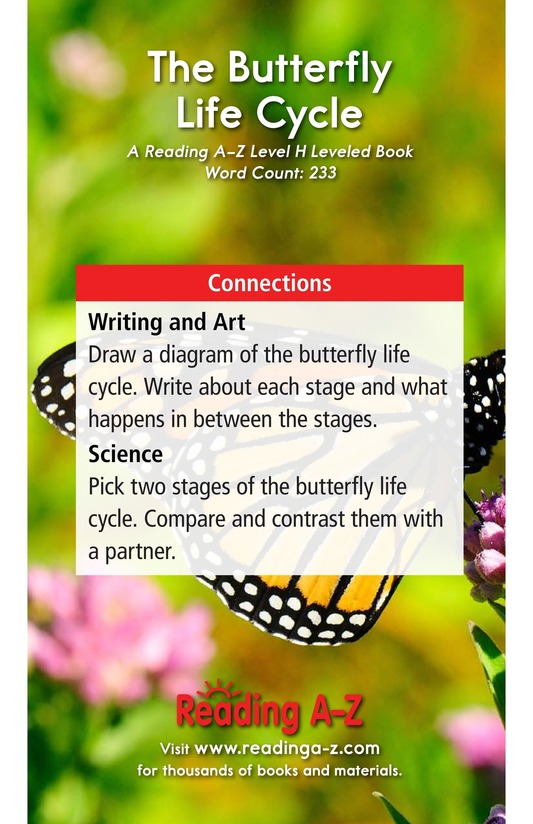 Book Preview For The Butterfly Life Cycle Page 17