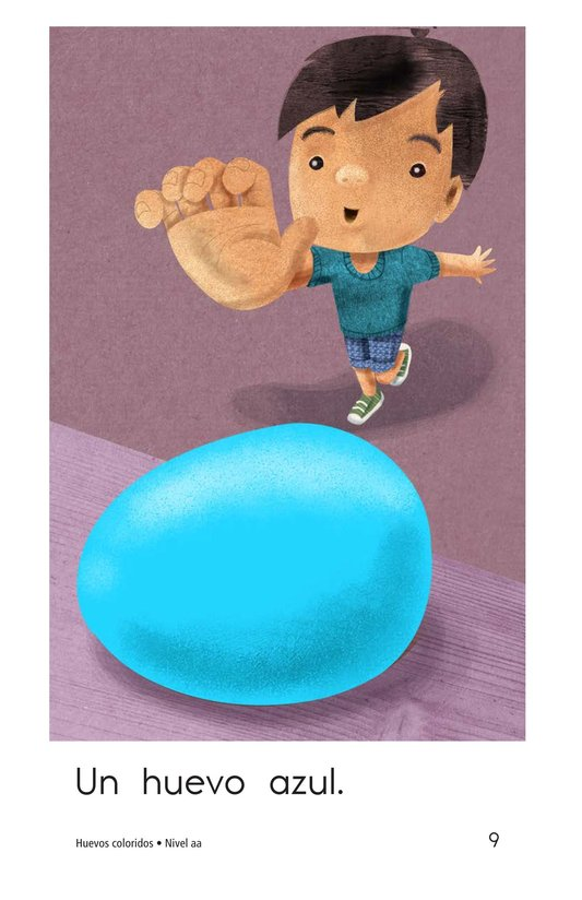 Book Preview For Colorful Eggs Page 9