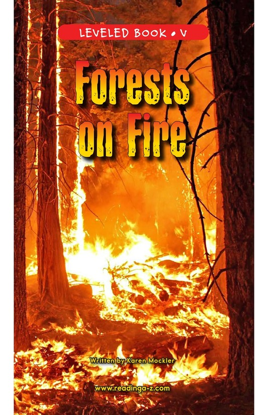 Book Preview For Forests on Fire Page 1