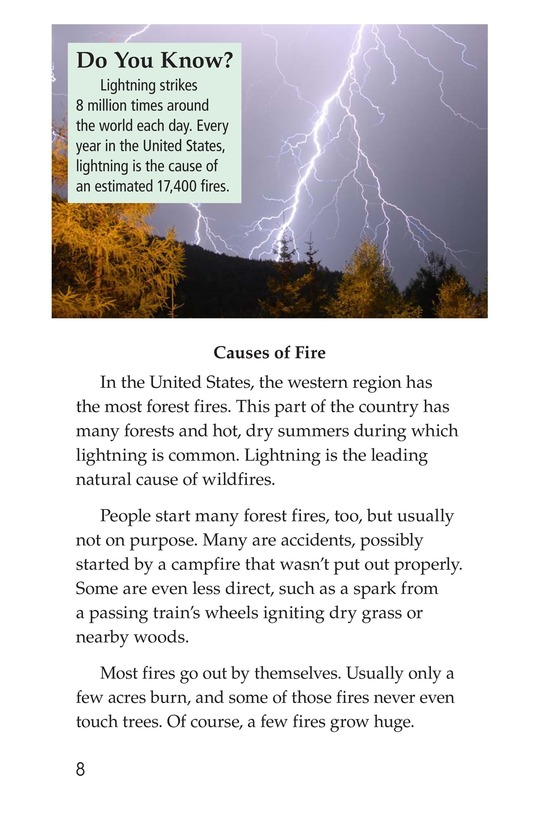 Book Preview For Forests on Fire Page 8