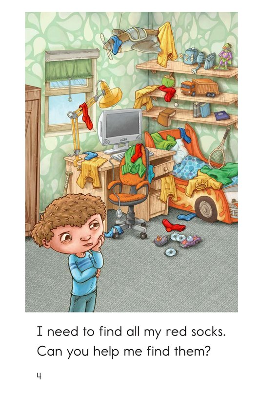 Book Preview For Cleaning My Room Page 4