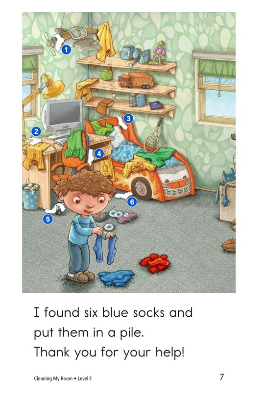 Book Preview For Cleaning My Room Page 7