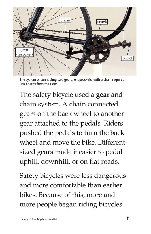 Book Preview For History of the Bicycle Page 11