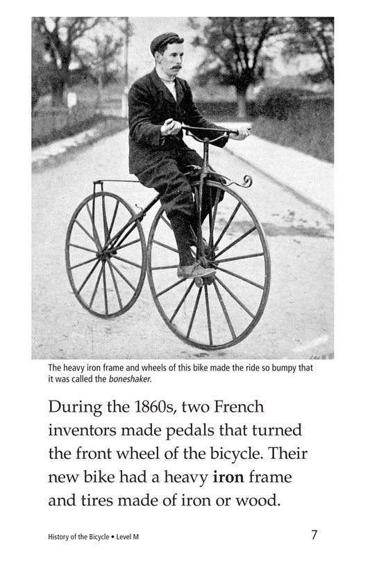 Book Preview For History of the Bicycle Page 7
