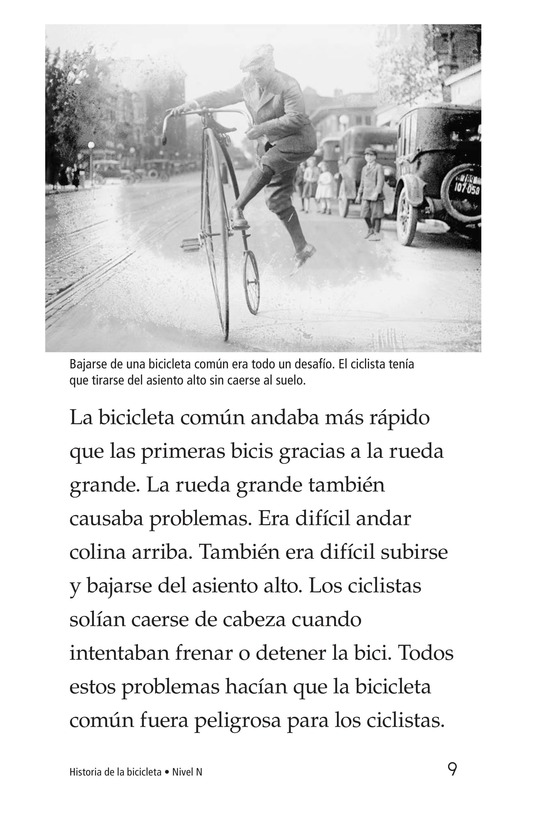 Book Preview For History of the Bicycle Page 9