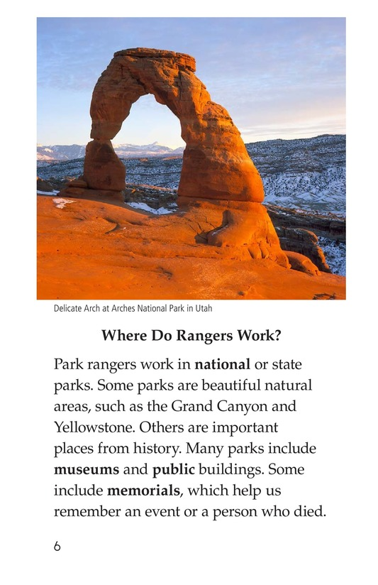 Book Preview For Park Rangers Page 6