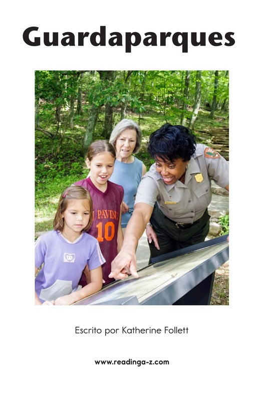 Book Preview For Park Rangers Page 2