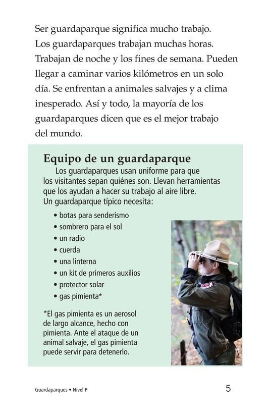 Book Preview For Park Rangers Page 5