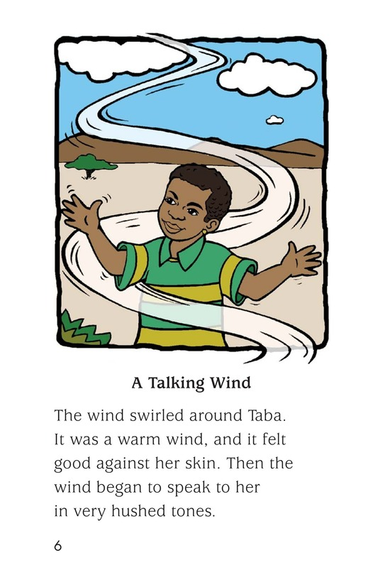 Book Preview For The Mystery Wind Page 6